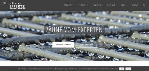 Zäune Effertz Websiterelaunch