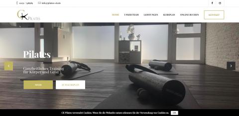 Pilates CK - Websiterelaunch